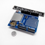 Data Logging Shield XD-05 + Real time clock for Arduino