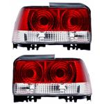 ไฟท้าย TOYOTA AE100-AE101 91-96 ขาวแดงเพชร