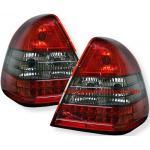 ไฟท้าย BENZ C-CLASS W202 94-00 SMOKE แดงเพชร LED