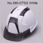 TOYO Helmet Ventilation (ABS) 390F สีขาว/ควันบุหรี่ (Smoke)