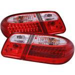 ไฟท้าย BENZ E-CLASS W210 95-02 ขาวแดงเพชร LED