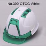 TOYO Helmet Ventilation (ABS) 390F สีขาว/เขียว (Green)