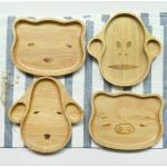 Animal Wood Plate Tray Dish - ถาดไม้รูปสัตว์น่ารัก