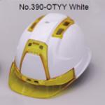 TOYO Helmet Ventilation (ABS) 390F สีขาว/เหลือง (Yellow)