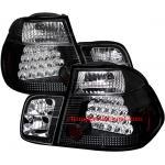 ไฟท้าย BMW 3 SERIES E46 98-05 ดำ LED