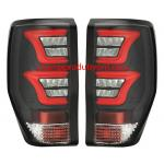 Tail Lights FORD RANGER 2015-2018 ฺBlack LED (V.2)