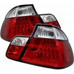 ไฟท้าย BMW 3 SERIES E46 98-05 ขาวแดง LED