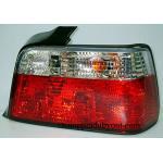 ไฟท้าย BMW 3 SERIES E36 91-00 4D ขาวแดงเพชร