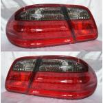 ไฟท้าย BENZ E-CLASS W210 95-02 SMOKE แดงเพชร LED