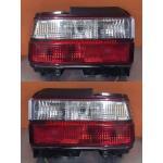 ไฟท้าย TOYOTA AE100-AE101 91-96 ขาวแดงเพชร ทรง USA