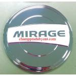 ครอบฝาถังน้ำมันโครเมี่ยม MITSUBISHI MIRAGE 12-16 (V.2)