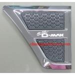 ครอบแก้มโครเมี่ยม ISUZU ALL NEW D-MAX 11-15 (V.2)