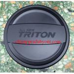 ครอบฝาถังน้ำมัน MITSUBISHI TRITON 15-16 4D ดำ