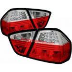 ไฟท้าย BMW 3 SERIES E90 05-11 ขาวแดง LED