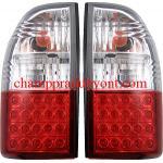 ไฟท้าย MITSUBISHI STRADA 95-05 ขาวแดงเพชร LED