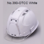 TOYO Helmet Ventilation (ABS) 390F สีขาว/ใส (Clear)