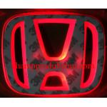 โลโก้มีไฟ HONDA ACCORD 08-13 LED แสงสีแดง (ด้านหน้า)