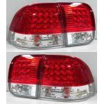 ไฟท้าย HONDA CIVIC 96-98 ขาวแดงเพชร LED