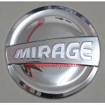 ครอบฝาถังน้ำมันโครเมี่ยม MITSUBISHI MIRAGE 12-16 (V.3)