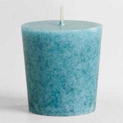 เทียนโวทีฟ [VOTIVE Candle] กลิ่นทะเล [OCEAN] 6 ชิ้นต่อแพ็ค