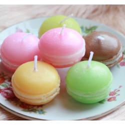 ชุดขนมเทียนหอมสุดน่ารัก : มาการองเทียนหอม (Macroon Candle Gift Set)