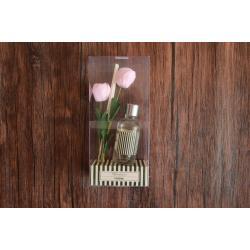 AC822A ก้านไม้ไม้หอมในขวดแก้ว คุณภาพสูงราคาประหยัด 15ML กลิ่นดอกกุหลาบ