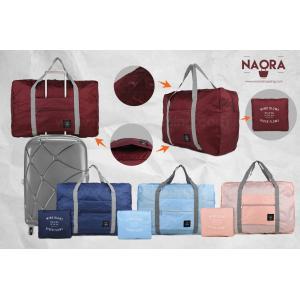 กระเป๋าเดินทางพับเก็บได้สีสันสดใส