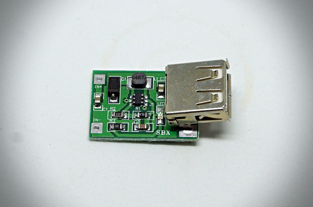 5V 600mA step-up Lithium Battery Charger