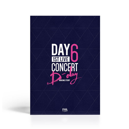 "[PRE-ORDER] DAY6 - 2nd Live Concert ""DREAM"" Official Goods ""DAY6 - 1st Live Concert ""D-DAY"" Making Story Photobook"""