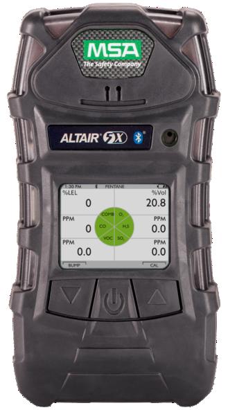 เครื่องตรวจวัดแก๊ส MSA ALTAIR 5X Multi Gas Detector