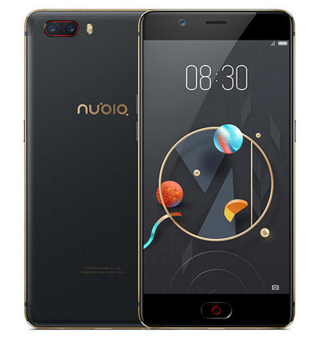 ZTE Nubia M2 แรม4GB รอม64GB Snapdragon625 จอ 5.5 นิ้ว(สีดำทอง)เลิกจำหน่ายแล้ว