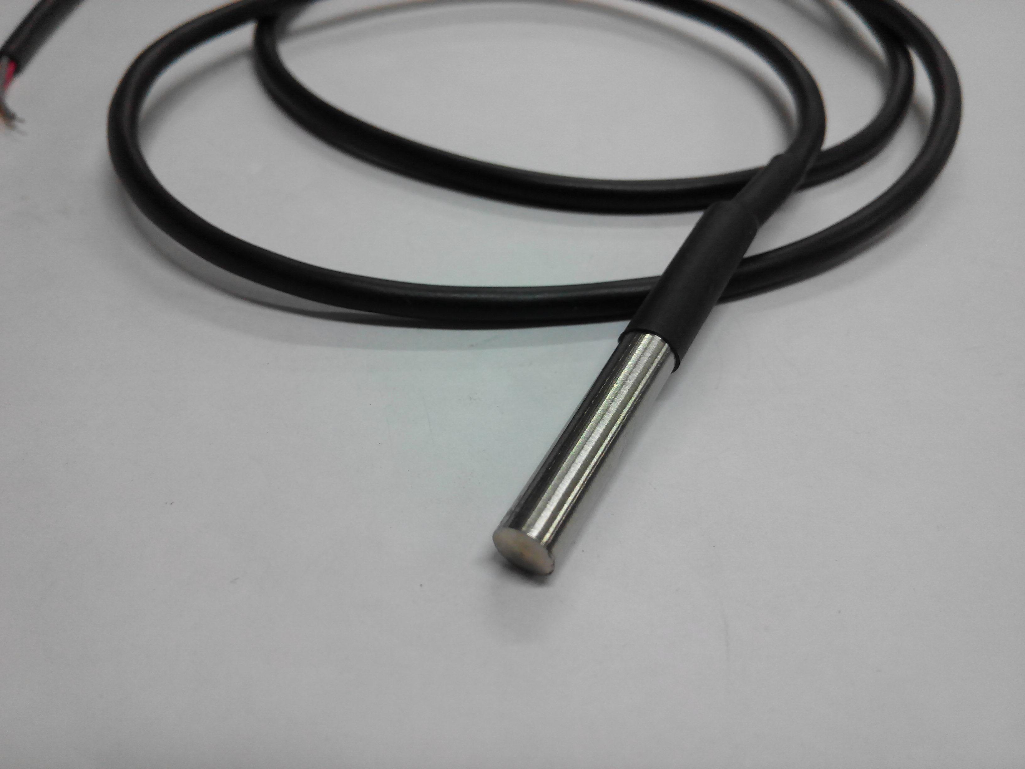 Temperature sensor DS18B20 waterproof สายยาว 1m