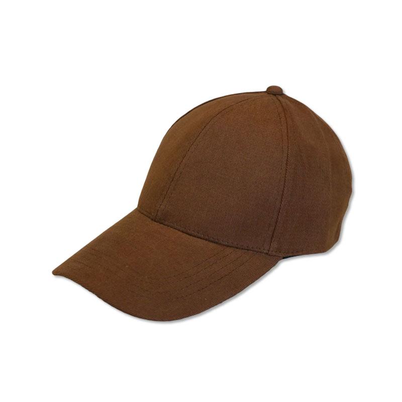 หมวกแก๊ปเปล่า สีพื้น สีน้ำตาล by Season Tales