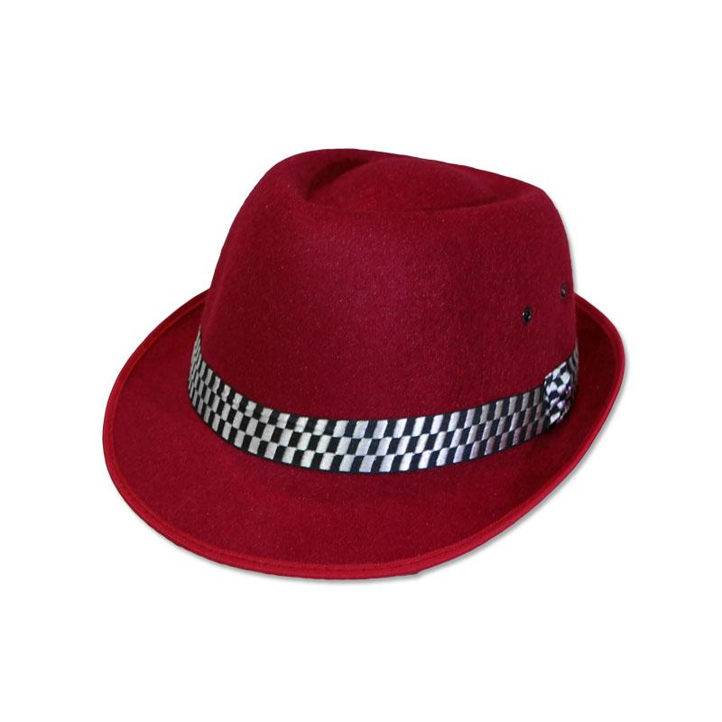 หมวกปานามา ไมเคิล สีแดง (ผู้ใหญ่) by Season Tales