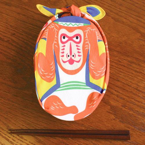ผ้าห่อเบนโตะ Furoshiki ลาย Monkey