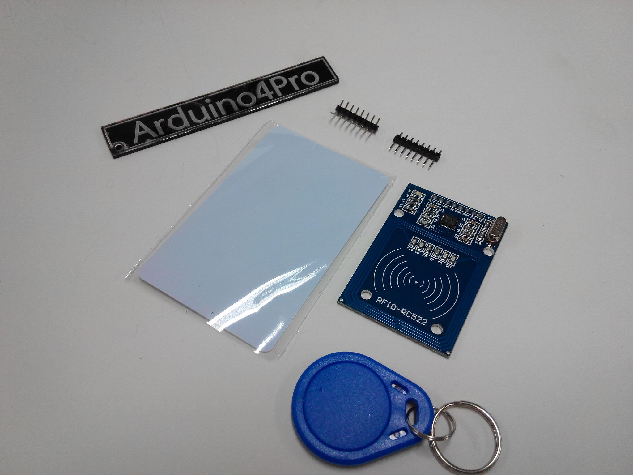 RFID Card Module Kit (RC522) มาพร้อม Tag Card และ พวงกุญแจ Tag