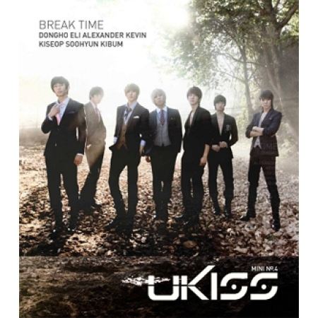 "[PRE-ORDER] U-KISS - 4th Mini Album ""BREAK TIME"""