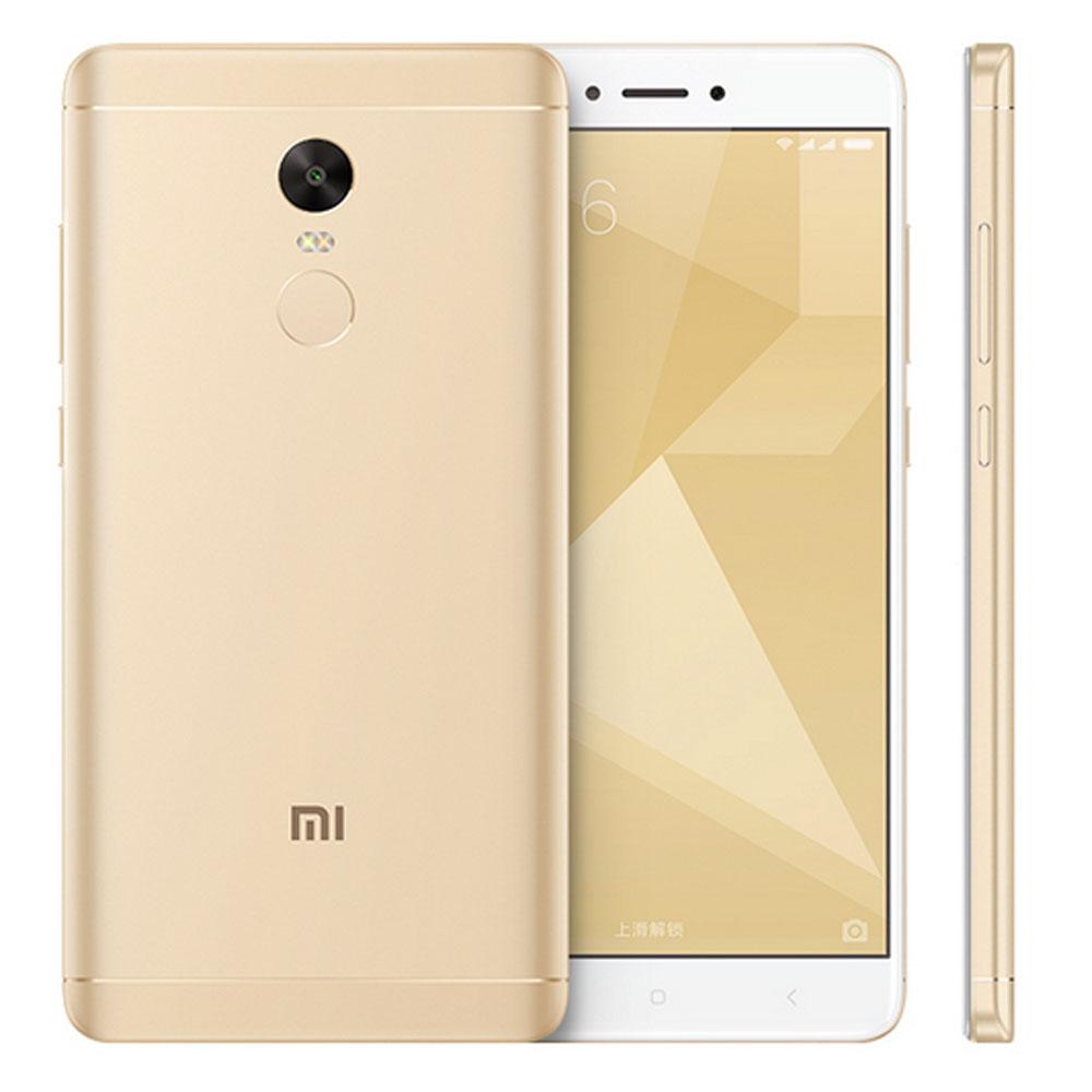 (เครื่องศูนย์ไทย)Xiaomi Redmi note 4 จอ 5.5 นิ้ว แรม 4 รอม 64GB (สีขาวทอง)