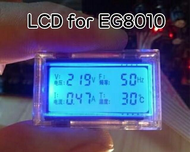 E219: LCD for EG8010-หน้าจอ board EG8010