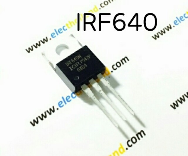 IRF640 N MOSFET 200V/18A