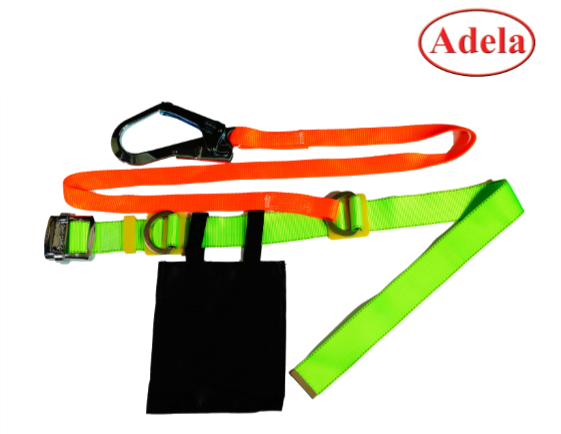 เข็มขัดนิรภัย Safety Belt Large Hook Adela Webbing Lanyard
