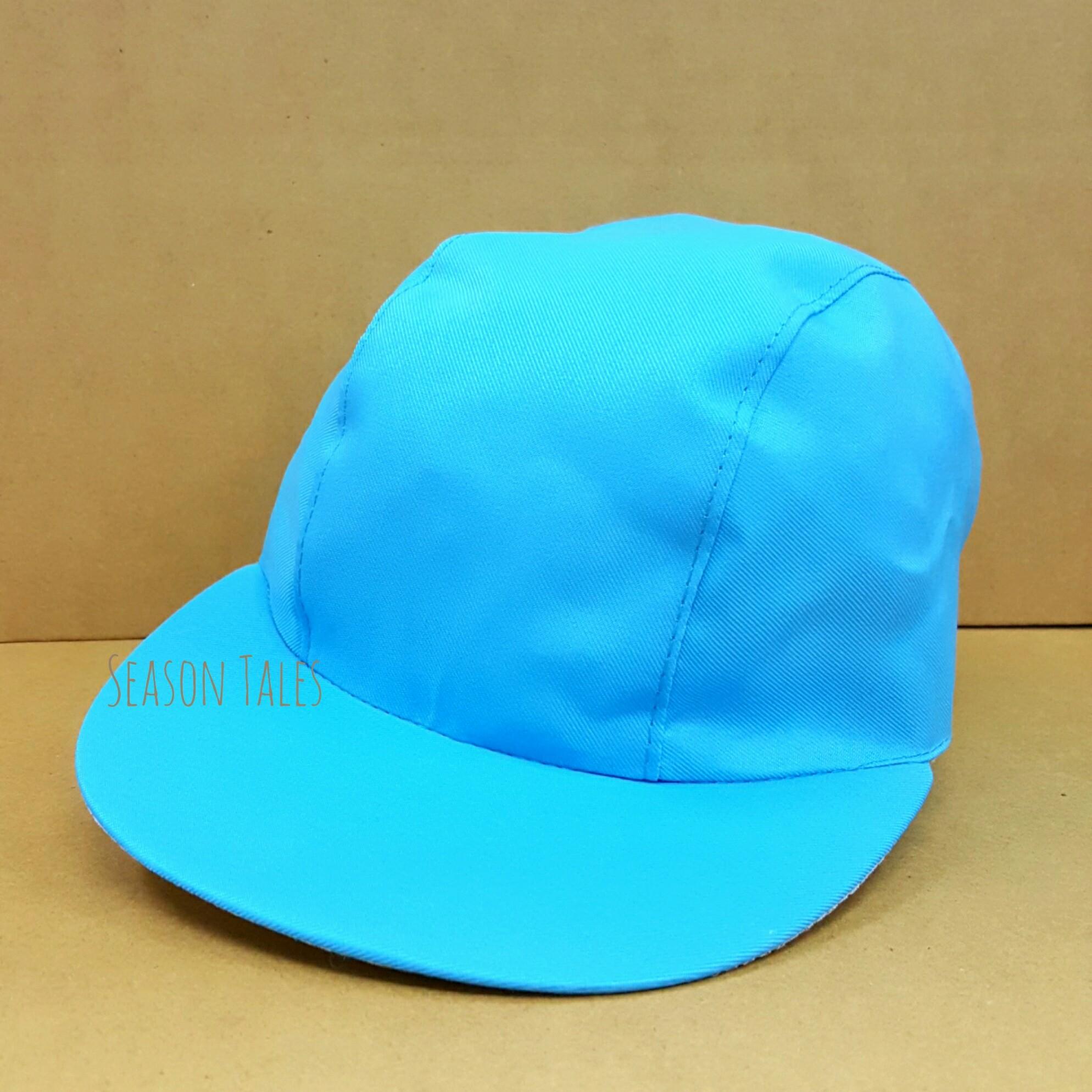 หมวกแก๊ป กีฬาสี สีฟ้า ราคาถูกสุดๆ (สั่งในเว็บไม่ได้ สั่งผ่านLine/Telเท่านั้น)