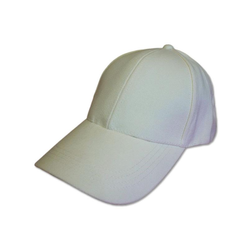 หมวกแก๊ปเปล่า สีพื้น สีขาวออฟไวท์ (ขาวนวล-ครีมอ่อน) by Season Tales