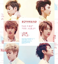 """[PRE-ORDER] BOYFRIEND - 1st Mini Album """"Love Style"""""""