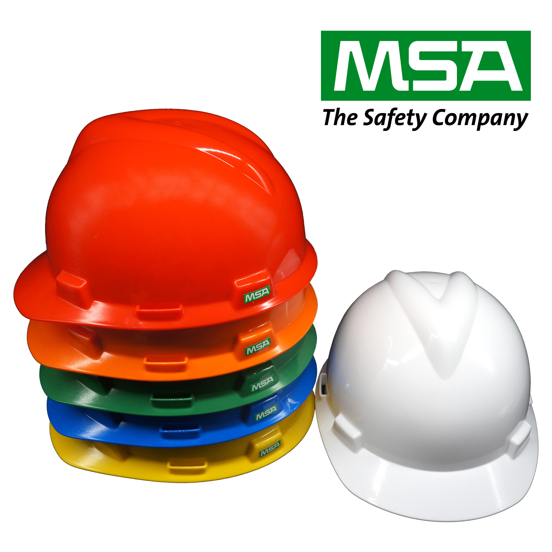 Safety Helmet V-Gard Cap GB (China) รองในปรับเลื่อน พร้อมสายรัดคาง 4 จุด
