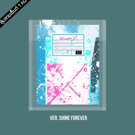 "[PRE-ORDER] {อัลบั้มไซน์สุ่มเมมเบอร์ 1 คน} MONSTA X - 1st Album Repackage ""SHINE FOREVER"" (SHINE FOREVER VER.)"