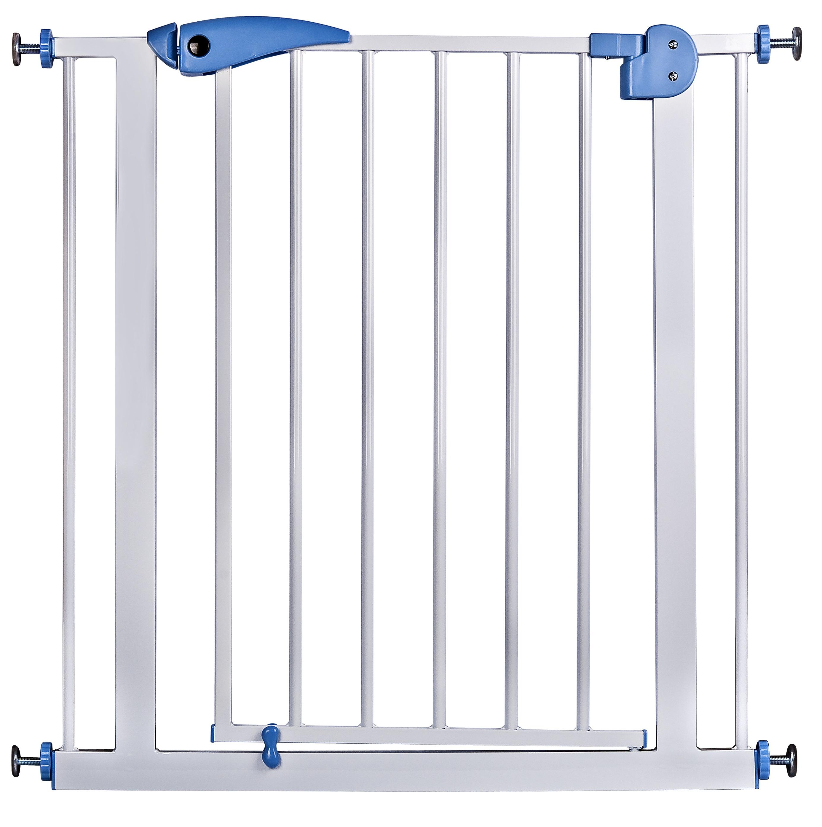 ประตูกั้นบันได้ สูง 76 cm กว้าง 70cm เลือกตัวยึดฟรี 4 ชั้น
