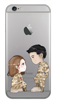 "[PRE-ORDER] Descendants Of The Sun - Jelly Phone Case ""Seo Dae Young & Yoon Myeong Joo"" (เคสใส)"