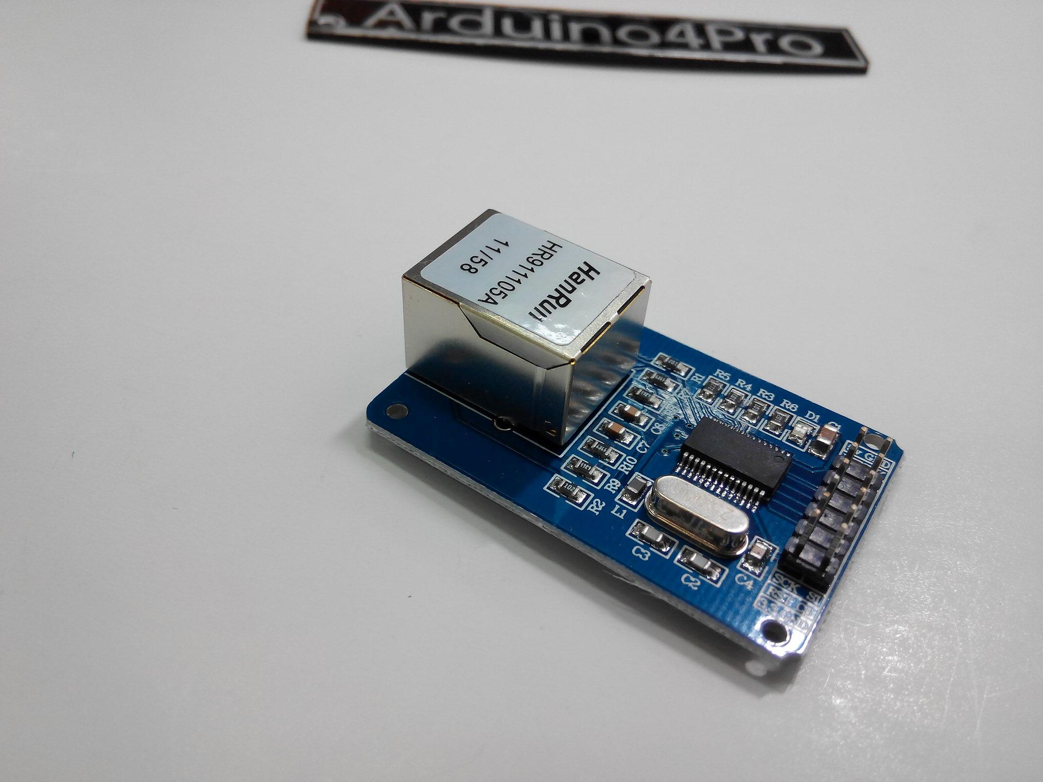 ENC28J60 LAN Ethernet Network Board Module 25MHZ