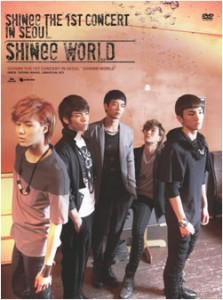 "[PRE-ORDER] SHINee - The 1st Concert in Seoul ""SHINee WORLD"" (DVD)"